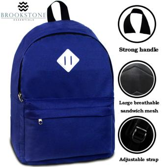 Brookstone Dionne Mccue Daypack Backpack (Royal Blue) - 2