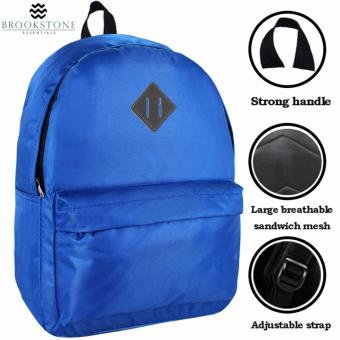 Brookstone Dionne Mccue Lash Tab Casual Backpack (Blue) - 2
