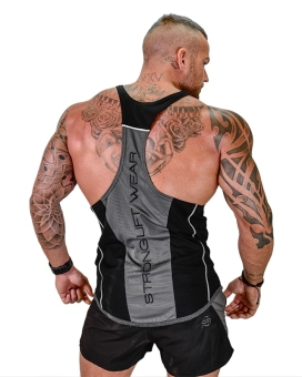 Brother muscle fitness dog vest (Black)