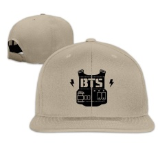 BTS - Bangtan Boys Bulletproof Vest Plain Adjustable Cap Summer Hats Sports Custom - intlPHP474. PHP 474