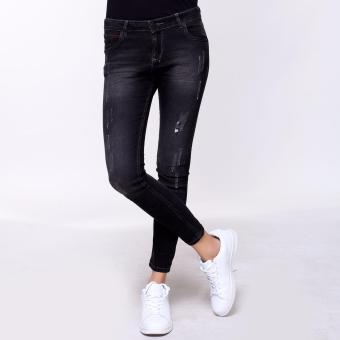 Bum Ladies Basic Black Army Pants (Black)