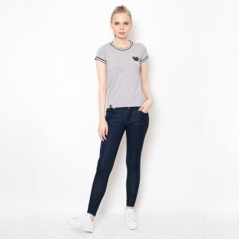 Bum Ladies Basic Black Army Tee (Acid Gray)