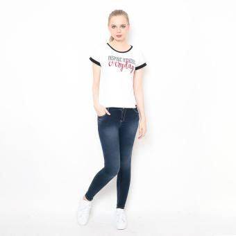 Bum Ladies Black And White Tees (White Black) Price Philippines