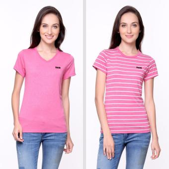 Bum Limited Ladies Bundle Tee (Acid Fuschia)