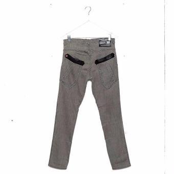 Bum Men's Black Army Premiun Denim Pants (Tinted Black) - 2