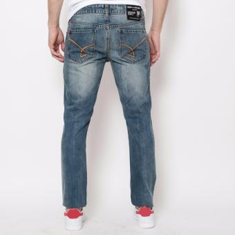 Bum Men's Ripped Denim Pants (Blue) - 3