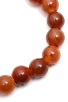 Burmese Red Jade Bracelet by Jaded (Red)