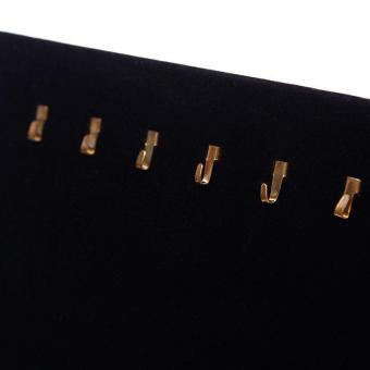 Buy in Coins 17 Gold Hooks Display Board (Black) - picture 2