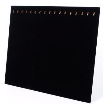 Buy in Coins 17 Gold Hooks Display Board (Black)