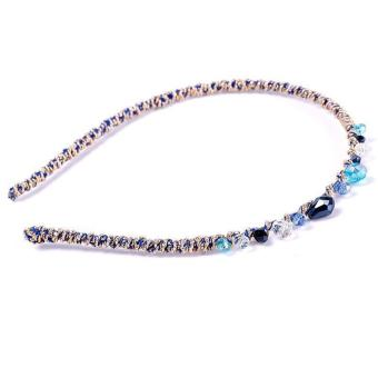 BUYINCOINS Korea Style Crystal Bead Headband (Multicolor) - picture 2