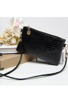 Buytra Women PU Leather Hangbag Black