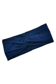 Buytra Women's Headband Cotton Turban Twist Knot (Blue) - picture 2