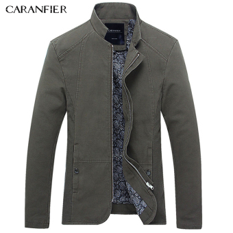 BYL caranfier arrival elite mens jacket outerwear slim coats (Green)