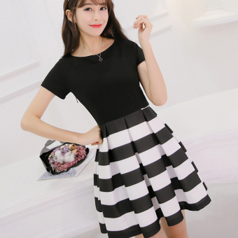 Caidaifei Korean-style spring and summer New style slimming dress