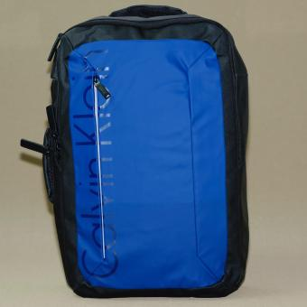 ef272f6685b Calvin Klein Logan Backpack convertible to Messenger ( Blue / Black )