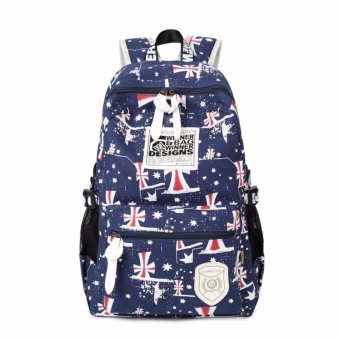 Canvas Women Backpack School bag For Teenagers Girls Back PackSchool bags Bagpack Mochila - intl