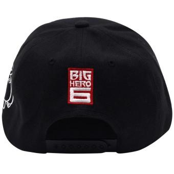 Cap City Unisex CapNime Fashion Cosplay Snapback BayMax Baseball Cap (Black) - 4