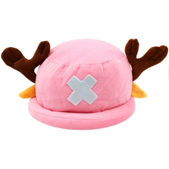 Cap City Unisex CapNime Fashion Cosplay Snapback Chopper Hat (Pink)