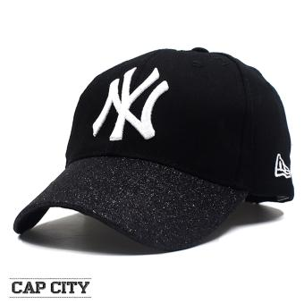 Cap City Unisex Hip Hop NY Glittery Sports Cap (White) Price Philippines