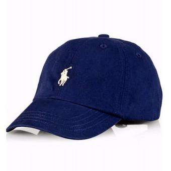 Cap Polo Ralph Lauren navy blue