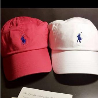 Cap Polo Ralph Lauren red & white duo