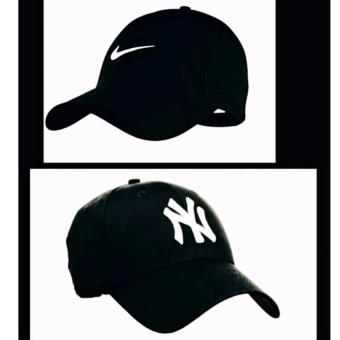 Cap Republic Fashion set of N/KE black & NY black Price Philippines