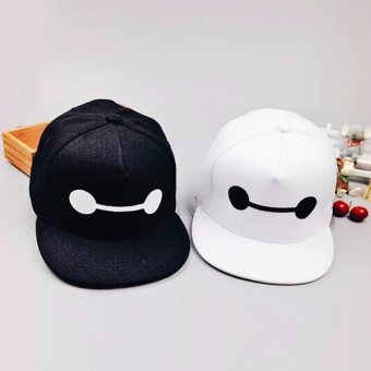 Cap Republic set of Baymax black & white