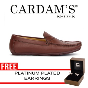 Cardam's Penny Casual Loafers(Brown)