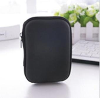 Carrying Pouch Earphone HARD EVA Case,Travel Gadget Organiser Case,Electronics Accessories Bag(