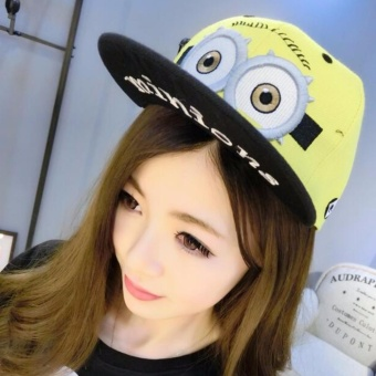 Cartoon Minions Baseball Cap for Adult Hat Despicable Me Caps HipHop Hat - intl Price Philippines