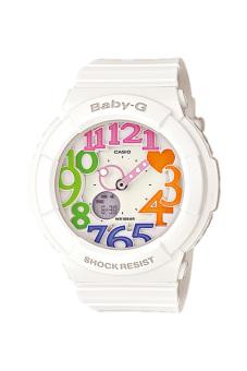 Casio Baby-G Women's White Resin Strap Watch BGA-131-7B3