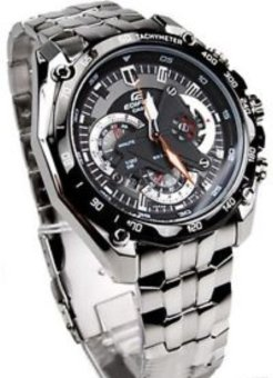 Casio Edifice Chronograph Men's Stainless Steel Strap Watch EF-550D - picture 3