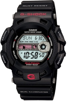 Casio G-Shock Men's Black Resin Strap Watch G-9100-1