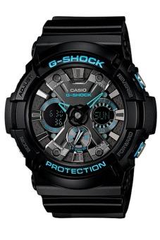 Casio G-Shock Men's Black Resin Strap Watch GA-201BA-1A