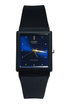 Casio Men's Black Silicon Strap Watch MQ-38-2ADF