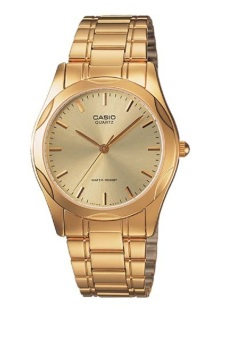 Casio Men's Gold Stainles Steel Band Watch MTP-1275G-9ADF