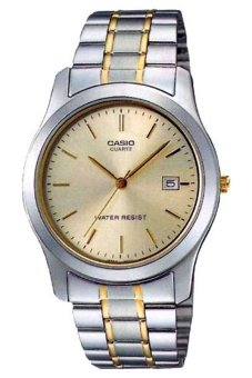 Casio Men's Silver Stainless Steel Strap Watch MTP-1141G-9ARDF