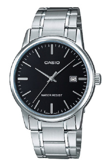 Casio MTP-V002D-1A Men's Watch (Silver)