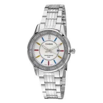 Casio Standard Analog Women's Silver Stainless Steel Strap Watch LTP-1358D-7A