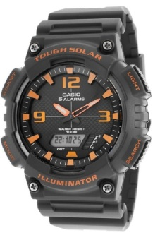 Casio Tough Solar Illuminator Men's Black Resin Band WatchAQ-S810W-8AVDF