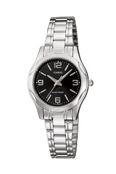 Casio Vintage Women's Silver Stainless Steel Strap Watch LTP-1275D-1ADF