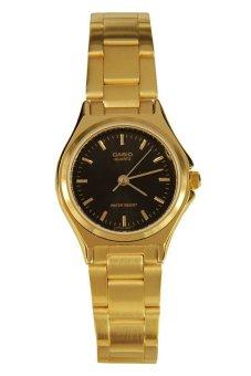 Casio Women`s Gold Stainless Steel Strap Watch LTP-1130N-1ARDF