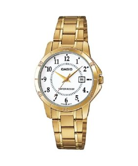 Casio Women's Gold Stainless Steel Watch LTP-V004G-7B