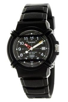 Casio Women's Black Stainless Steel Band Watch HDA-600B-1BVDF
