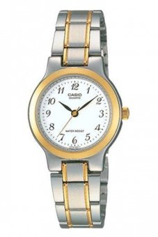 Casio Womens Watch LTP-1129G-7BRDF (Silver/Gold)