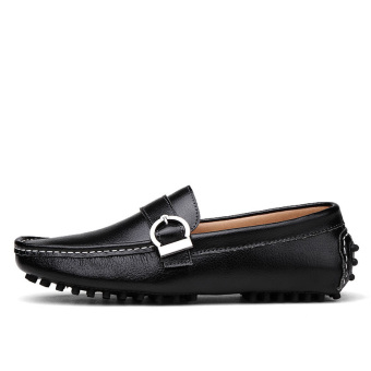 Casual Fashion Men Loafers - Black
