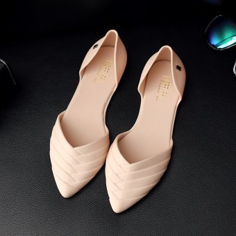 Casual female pointed student gel shoes Shoes (Pink)
