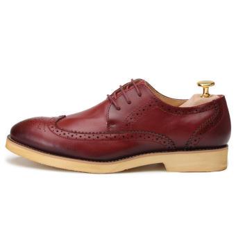 Casual Men Oxfords Formal Shoes - Blue