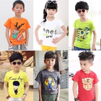 Casual summer new Baobao shirt Top (9 pieces General hair three, models color)