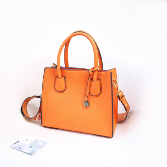 Cat bag Korean-style female handbag New style bag (Orange) (Orange)